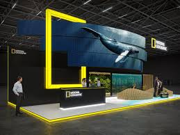 Stand Design Exhibition Stands For National Geographic 2018 By Gm Stand