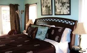 Light Blue Brown Bedroom Diy Makeover