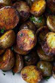unbelievably crispy grilled potatoes