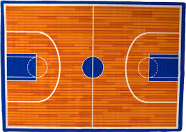 hr kids rugs play time basketball court non slip rubber back area rug contemporary kids rugs by handcraft rugs