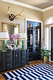 ... Rug And Blak Hallway Cabinet Feat Eclectic Table Lamps Tips and Ideas  for Decorating Stunning Entryways Elegant Entryway Ideas Best Foyer  Designs Tiny ...