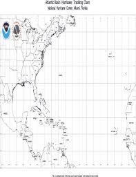 Atlantic Basin Hurricane Tracking Chart National Hurricane Center Miami Florida Fillable Online Atlantic Basin Hurricane Tracking Chart Fax