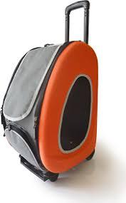 Ibiyaya <b>складная сумка</b>-<b>тележка 3 в</b> 1 для собак до 8 кг (сумка ...