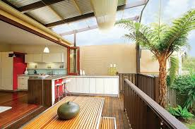 creative blend of indoor and outdoor kitchens design danny broe architect