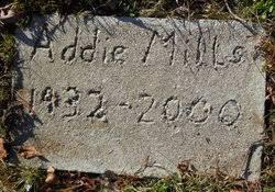 Addie Mills (1932-2000) - Find A Grave Memorial