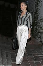 Nicole Richie flashes her black bra under revealing semi-sheer blouse  #dailymail | Nicole richie style, Fashion, Style
