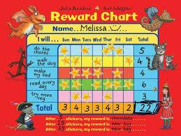 Reward Chart Julia Donaldson And Axel Scheffler Reward Chart
