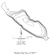 Lake Chelan Depth Chart Wapato Information Nwfr