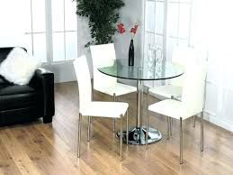 small round glass dining table 4 chair table set small round glass dining table sets for
