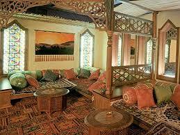 Arabic interior decorating in Ramadan