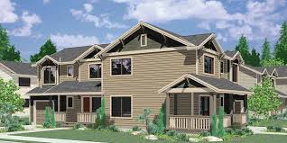 Corner Duplex House Plans  Duplex House PlansD  Corner lot duplex house plans  bedroom duplex house plans