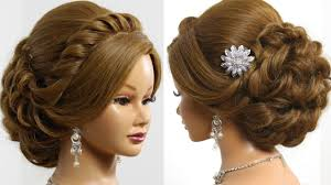 Easy Hair Style For Girl bridal hairstyle for long medium hair tutorial romantic updo 7912 by wearticles.com