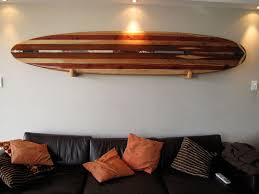 diy wooden surfboard decor remarkable ideas wall art hanging four foot bea on