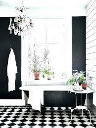 black and white checd floor flooring checkerboard linoleum vinyl brisbane