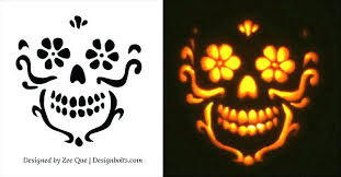 Pumpkin Carving Pattern Magnificent Free Templates For The Coolest Jack O Lantern On Block Printable