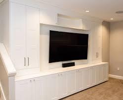 Media.Center. IKEA axel cabinets
