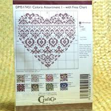 Dmc Coloris Assortment 1 With Free Charts Hands Craft Store