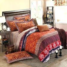 tribal print duvet cover bedding set gold brown and garnet red rococo pattern tribal print retro in comforter set design 1 bedding sets tribal print quilt