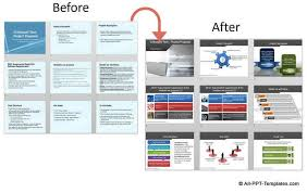 Project Proposal Presentation Before And After Project Proposal Slides Makeover From All
