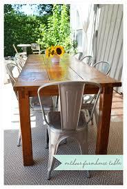 diy outdoor farmhouse table. DIY Outdoor Farmhouse Table Diy