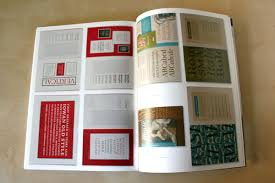 the influence being a mix of high clical book design turn of the century mercial art manual design and postmodern ornamental magazine design