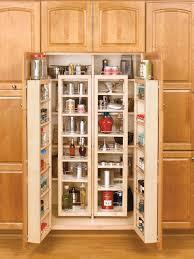 Shelf Cabinet With Doors Furniture Attractive Light Wood Diy Kitchen Cabinet Organizer