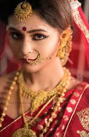 bengali bridal makeup chandan designs