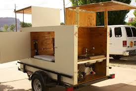 Camper Trailer Kitchen Small Camper Trailer Mobile Shopping Cart Home T B Trailers