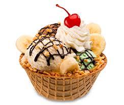 ice cream sundae waffle bowl. Waffle Bowls With Ice Cream Sundae Bowl