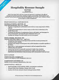 Gallery Of Position In Sales Marketing Hotel Management Resume