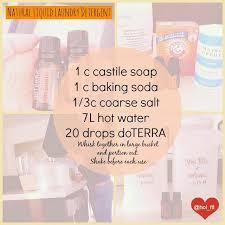 diy natural liquid laundry detergent