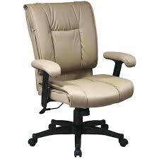 desk chairs stylish cream leather computer desk roller armchair design executive office white chair deals