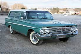 1961 Chevrolet Bel Air Parkwood Station Wagon | Wagons (Long Roofs ...