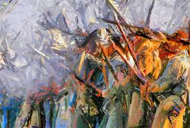 war painting american civil war abstract expressionism by georgiana romanovna