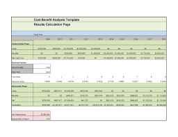 Cost Analysis Example Cost Benefit Analysis Excel Examples Guatemalago
