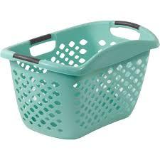 Home Logic HIP GRIP Laundry Basket, Large 1.8 Bu 2-way Carry Laundry Basket
