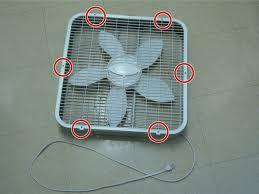 fan repair ifixit lasko box fan back wire repair