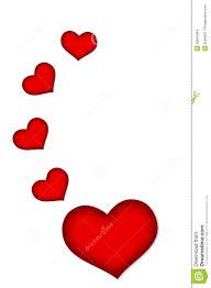 Dessin Coeur Rouge Et Blanc