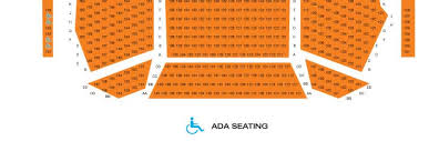 Fox Cities Performing Arts Center Seating Chart Seating Chart