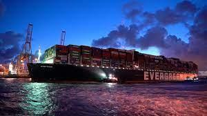 Blokkeerschip Ever Given vaart weer probleemloos door Suezkanaal   NU - Het  laatste nieuws het eerst op NU.nl