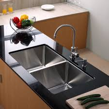 Stainless Steel Apron Sink. Unique Undermount Farmhouse Sink ...
