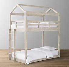 Cole Tassel Voile Canopy Bunk Bed | RH Baby & Child