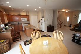 open plan kitchen living room flooring beautiful living post