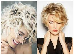 Bed Head Hairstyle curly layered blonde short hair short bed head hair with rugged 1576 by wearticles.com