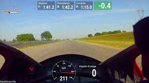 CREMONA CIRCUIT 21-04-17 Gerry on board HONDA CBR 600 RR - best 1:40.77  RACECHRONO PRO - YouTube