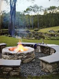 outdoor stone fire pit. FIRE PITS And OUTDOOR Outdoor Stone Fire Pit O