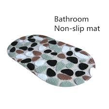 pebble bath rug soft non slip bath mats pebble shower anti slip carpet bathroom toilet mats