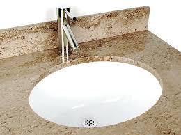 White Undermount Bathroom Sinks Bathroom Sink Oval Interior Design