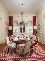 Red Dining Room Decor Innovative Zebra Chair Black Rooms Attachments Mesmerizing Red Dining Rooms Collection
