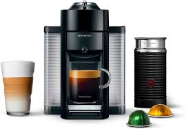Serve the coffee over ice, either black or with a splash of milk or cream. Amazon Com Nespresso Vertuo Coffee And Espresso Machine Bundle With Aeroccino Milk Frother By De Longhi Black Kitchen Dining